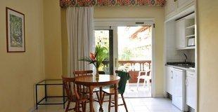 Estudio vista jardín/piscina 3 adultos Hotel Coral Teide Mar
