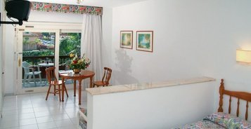 Estudio vista jardín / piscina Hotel Coral Teide Mar